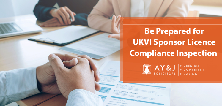 Be Prepared for a UKVI Sponsor Licence Compliance Inspection