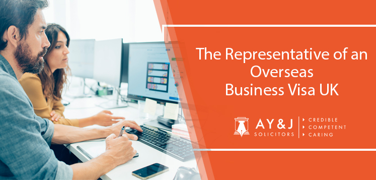 """All By Myself"" – The Representative of an Overseas Business Visa"