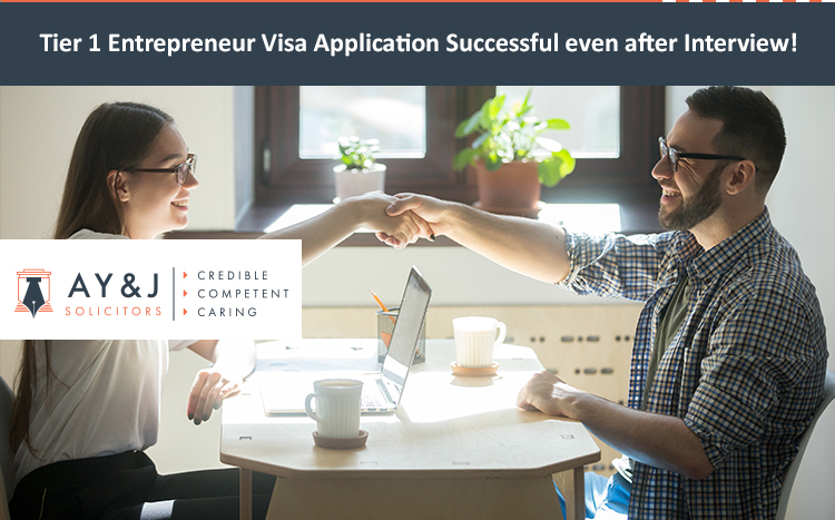 Tier 1 Entrepreneur Visa London