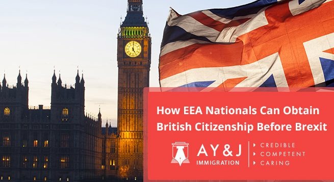 How EEA Nationals Can Obtain British Citizenship Before Brexit