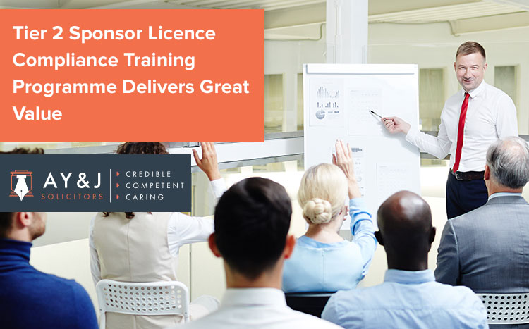 Tier 2 Sponsor Licence Compliance Training Programme Delivers Great Value