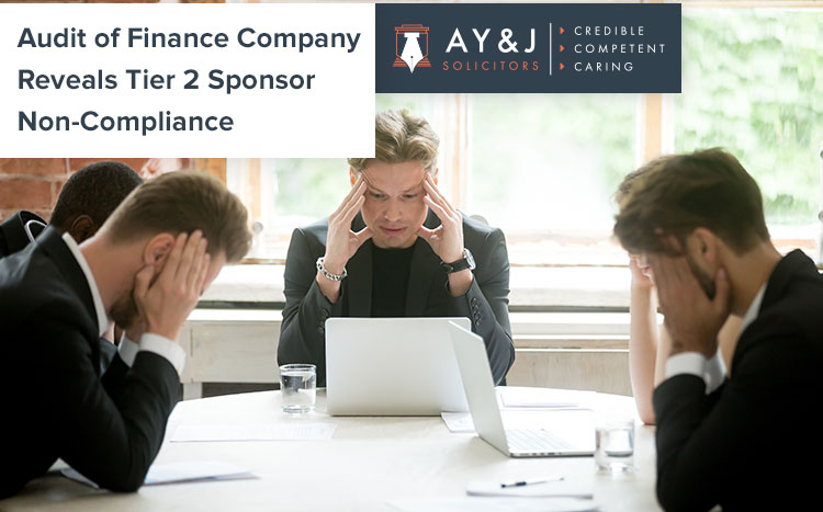 Non-Compliance by Tier 2 Sponsor