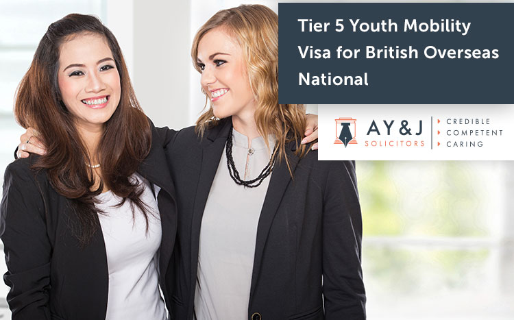 Tier 5 Youth Mobility Visa for British Overseas national