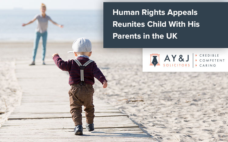 Human Rights Appeal Child Parents