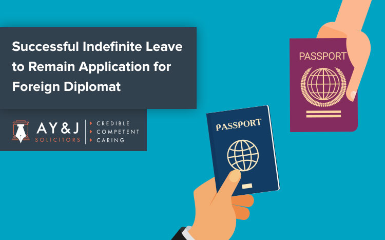 Indefinite Leave to Remain for Diplomat