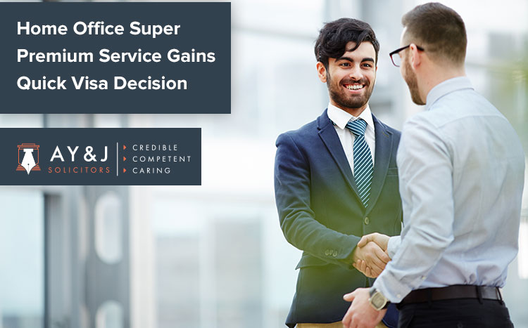Super Premium Service for Quick Visa Decision