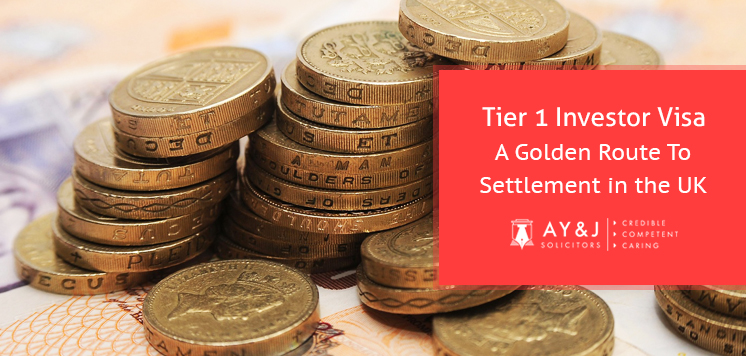 Tier 1 Investor Visa – A Golden Route To Settlement in the UK