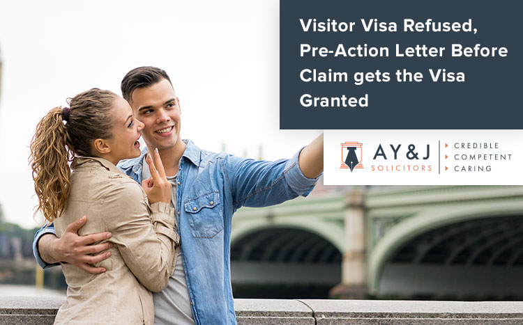 Visitor Visa Refused, Pre-Action Protocol Letter Submitted Leads to the Grant of Visa