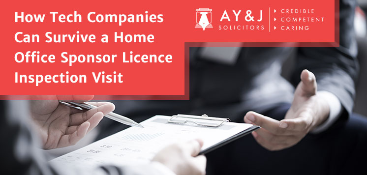 How Tech Companies Can Survive a Home Office Sponsor Licence Inspection Visit