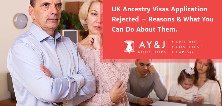 Reasons of UK Ancestry Visas Application Rejection