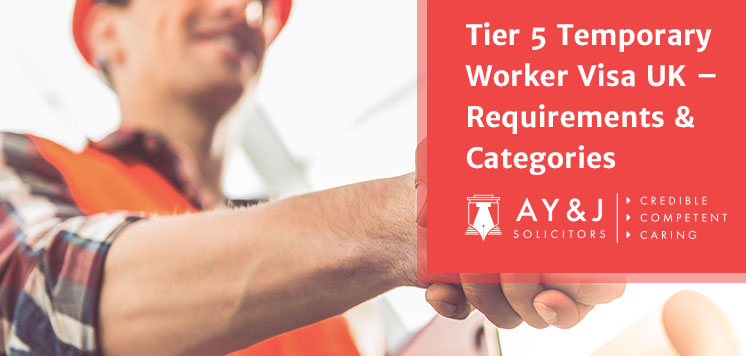 Tier 5 Temporary Worker Visas UK