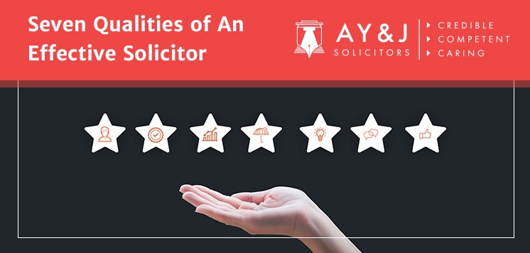 Seven Qualities of An Effective Solicitor
