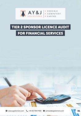 Sponsor Licence Audit: Financial Services