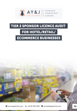 Sponsor Licence Audit: Hotel/Retail/Ecommerce