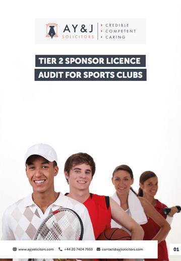 Sponsor Licence Audit: Sports Clubs