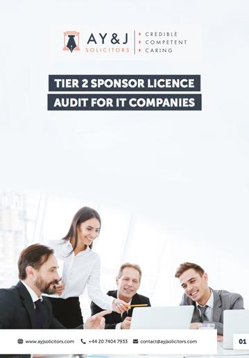 Sponsor Licence Audit: IT Company