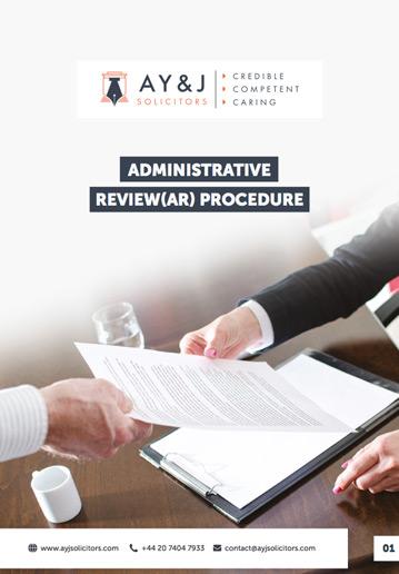 Administrative Review Procedure