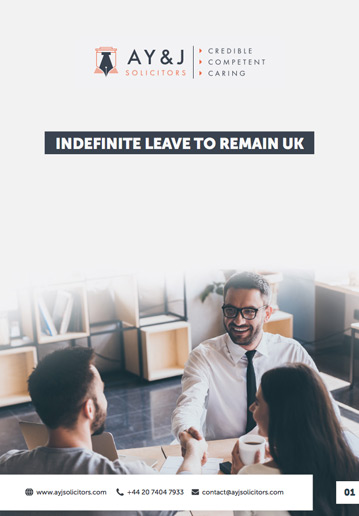 Indefinite Leave to Remain (ILR)