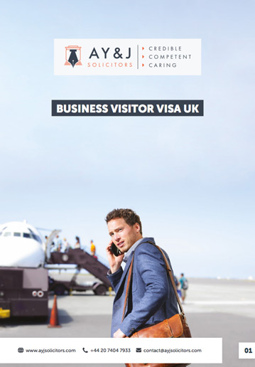Standard Business Visitor Visa