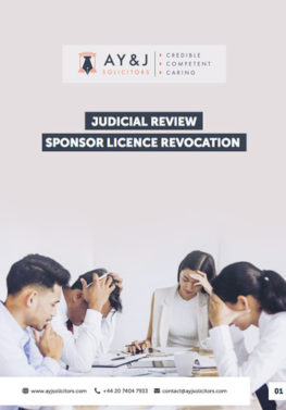 Sponsor Licence Judicial Review