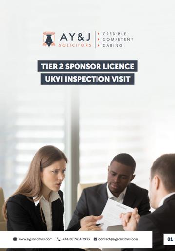 Sponsor Licence Compliance Audit
