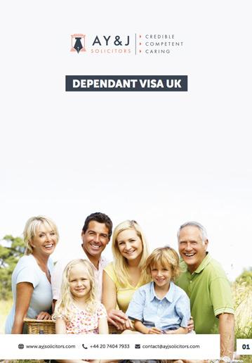 UK Dependant Visa