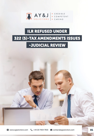ILR Deception-Tax Issues