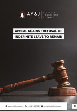 Settlement Visa (ILR) Appeal