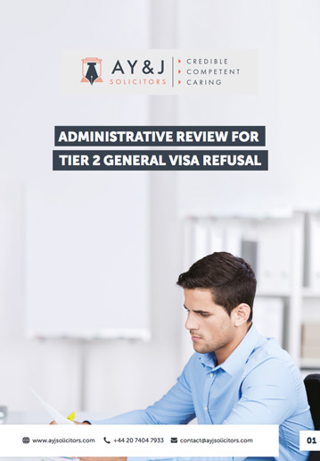 Administrative Review: Tier 2 (General) Visa Refusal