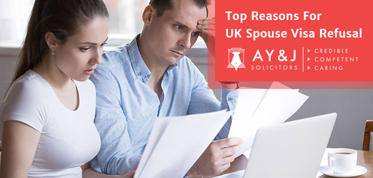 Top Reasons For UK Spouse Visa Refusal