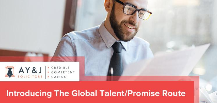 Introducing The Global Talent/Promise Route